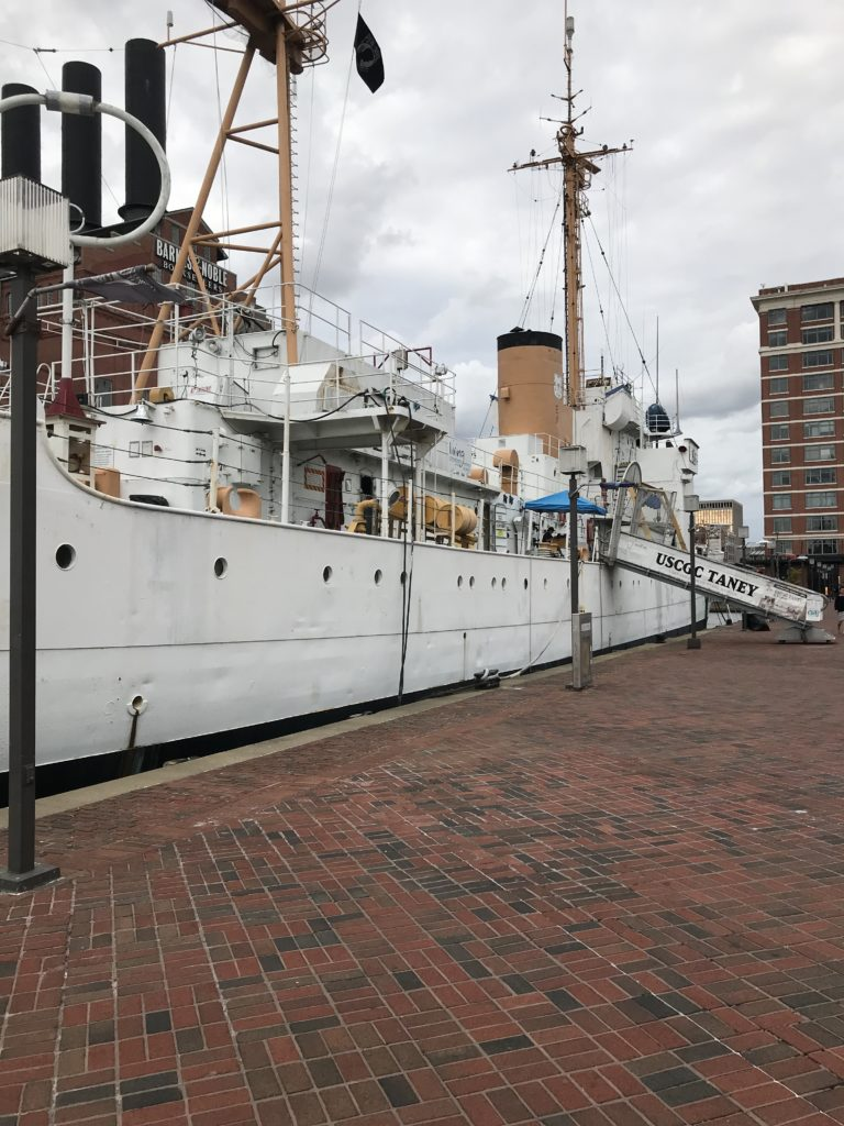 Soogie escapades and Pollywog trials are just two of the fascinating things on the Coast Guard Cutter Taney.