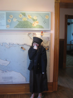Experiencing life at Fort Mackinac includes dressing up and playing 18th Century games.