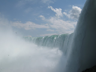 Niagara Falls is so much more than the falls but the falls are spectacular.