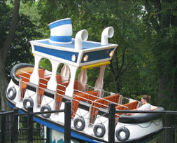 Centreville amusement park on Toronto Island is a fun place to spend the day.