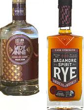 Lost Ark Distilling's Lady Anne and Sagamore Spirit's Rye - ingredients in the Black-Eyed Susan.
