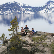 Where in the World? Chilling at Crater Lake, Oregon