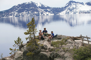 Crater Lake in Oregon should be on everyone's bucket list.