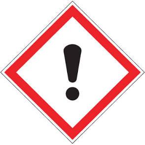 Engine cooking warning sign